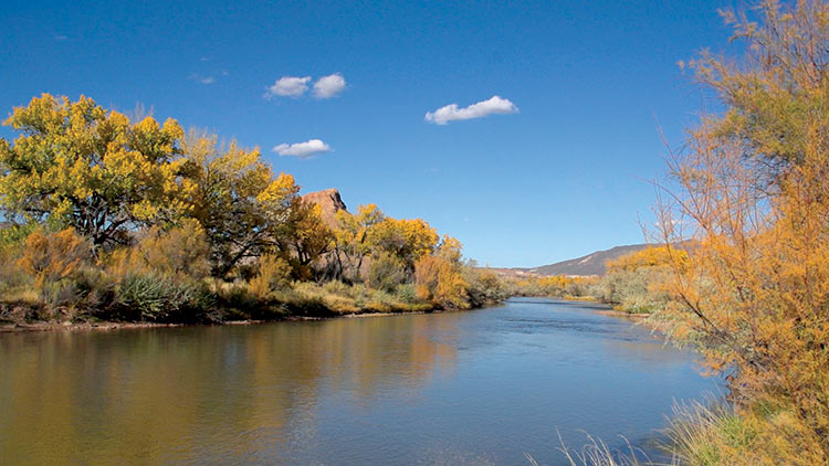 "The Abiquiu River in Abiquiu, NM featured on ""Veritas, In the Land of Enchantment"" DVD and Blu-ray"