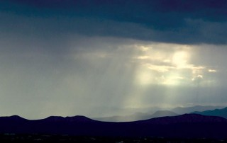"The dramatic skies and beautiful vistas of Santa Fe, NM, featured on ""Veritas, In the Land of Enchantment"" DVD and Blu-ray"