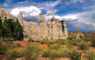 "The stunning rock formations of Abiquiu, NM featured on ""Veritas, In the Land of Enchantment"" DVD and Blu-ray"