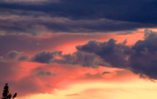 "Beautiful sunset sky above Truchas, NM featured on ""Veritas, In the Land of Enchantment"" DVD and Blu-ray"