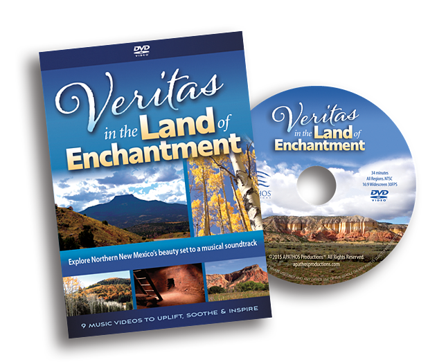 """Veritas in the Land of Enchantment"", DVD and Blu-ray Music Videos of New Mexico"""
